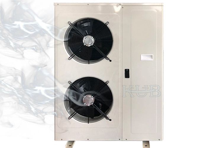 Kub500 R404A ZSI15KQE Refrigeration Scroll compressor Condensing Units 5hp Box Type Overall Design