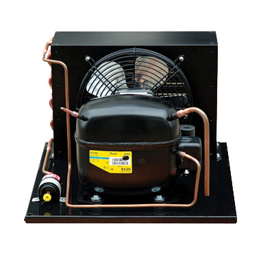 Low Temperature Compressor And small mini Condensing Unit  480*430*325mm With One Fans