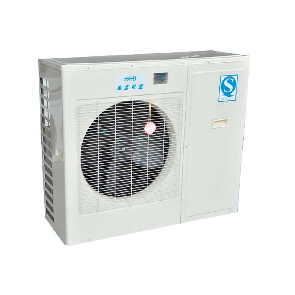 1500w Outdoor Condensing Unit , Outdoor Freezer Units Installed Conveniently Steady Air Flow