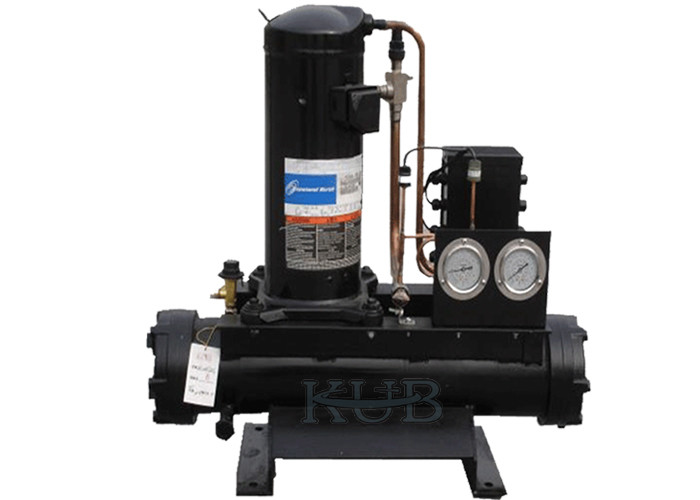 ZR61KC-TFD-522 Water Cooled Condensing Units , Copeland Condensing Unit Shell Type Condenser