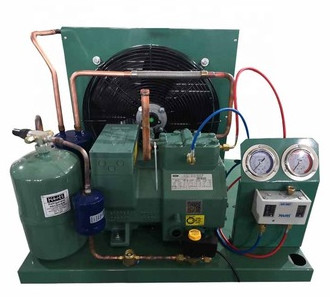 Stationary Cold Storage Compressor Piston Type AC Power One Year Warranty